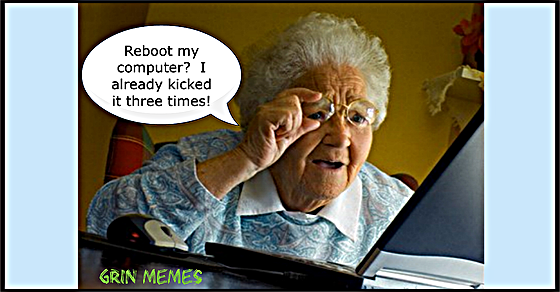 Grandma's computer issues