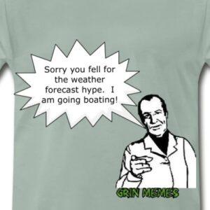 Spreadshirt Store - Funny Boating Meme Cartoon Design