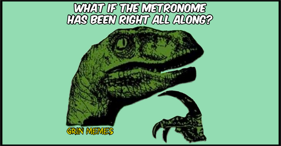 Piano Metronome Meme for Piano Teachers and Students